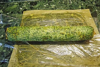 Lachsrolle mit Spinat und Frischkäse 123