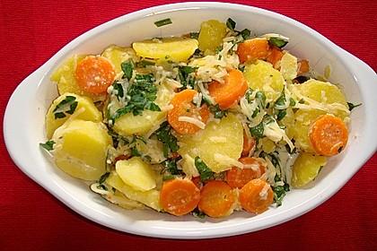 Kartoffelgratin 5