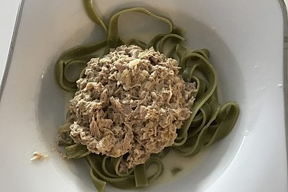 Thunfisch - Spaghetti (Bild)