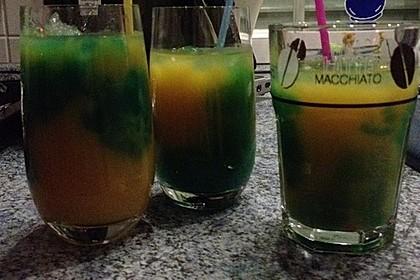 Blue Curaçao - Cocktail 1