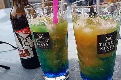 Blue Curaçao - Cocktail 4