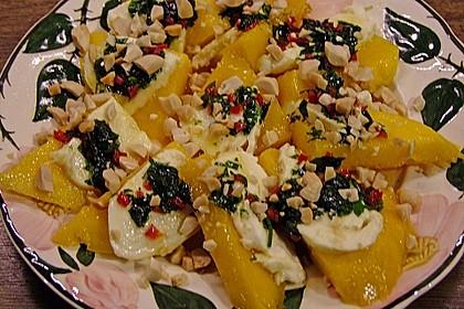 Mango mit Mozzarella 17