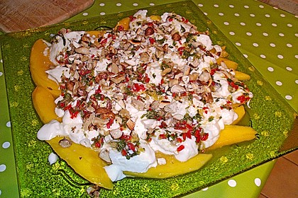 Mango mit Mozzarella 13