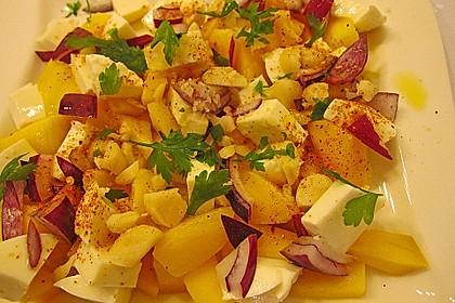 Mango mit Mozzarella 9