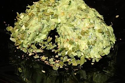Basilikum-Ziegenkäse-Aufstrich (Bild)