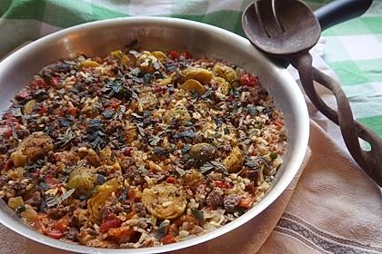 Serbisches Reisfleisch 32