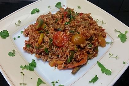 Serbisches Reisfleisch 16