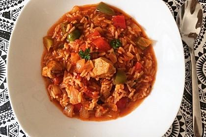 Serbisches Reisfleisch 11