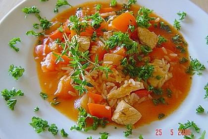 Serbisches Reisfleisch 15