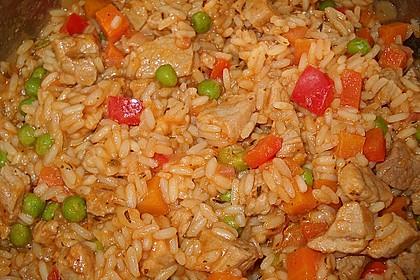 Serbisches Reisfleisch 9