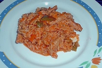 Serbisches Reisfleisch 10