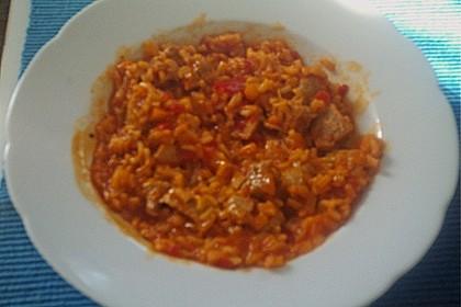 Serbisches Reisfleisch 38