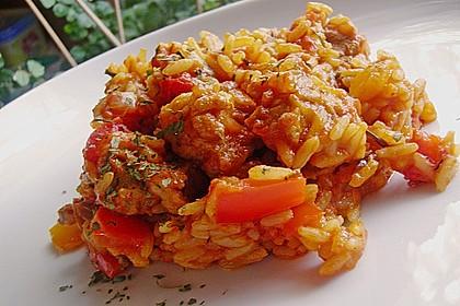 Serbisches Reisfleisch 17