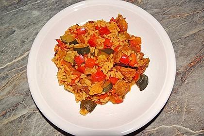 Serbisches Reisfleisch 13