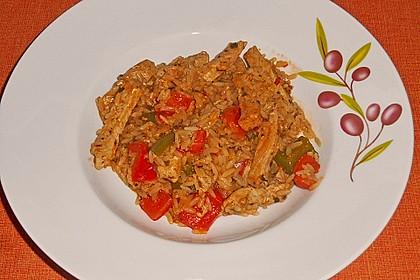 Serbisches Reisfleisch 7