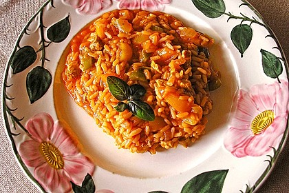 Serbisches Reisfleisch 6