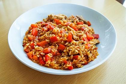 Serbisches Reisfleisch 4