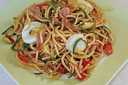 Chinesischer Spaghettisalat