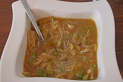 Chinesische Pekingsuppe süß - sauer à la Judith 2