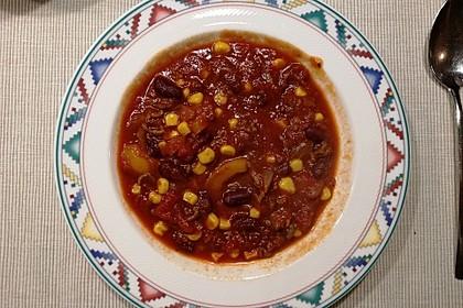 Buntes Chili con carne (Bild)