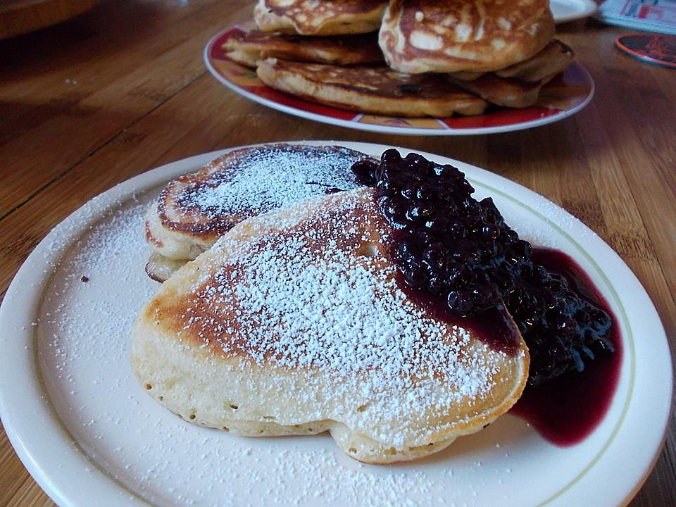 Amerikanische Buttermilch Pfannkuchen Von Sofi Chefkoch De