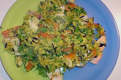 Bunte Reis - Fisch - Pfanne 15