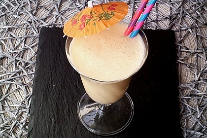 Orangen - Joghurt - Getränk (Bild)
