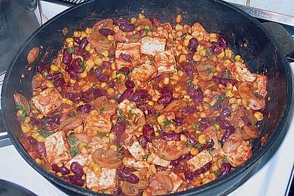 Chili con Tofu 4