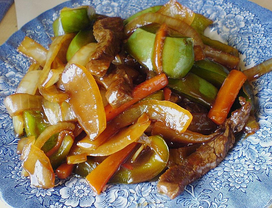 Rindfleisch mit Zwiebeln von hobbykoechin | Chefkoch