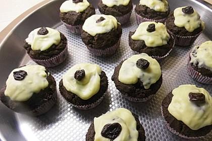 Schwarzwälder - Kirsch - Muffins (Bild)