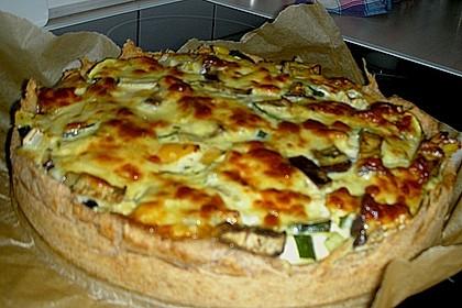 Gemüse - Dinkel - Quiche 8