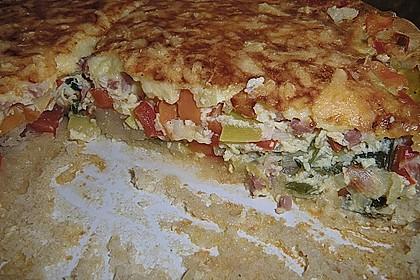 Gemüse - Dinkel - Quiche 3