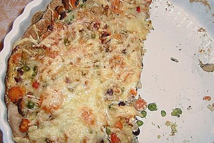 Gemüse - Dinkel - Quiche 7