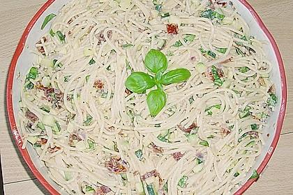 Nudelsalat mit getrockneten Tomaten 13