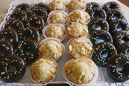 Donuts aus Quark - Öl - Teig für die Backform 7