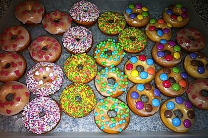 Donuts aus Quark - Öl - Teig für die Backform 2