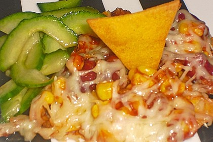 Überbackene Taco - Chips 5
