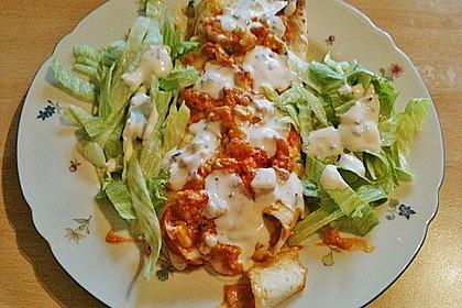 Mexikanischer Burritoauflauf 16