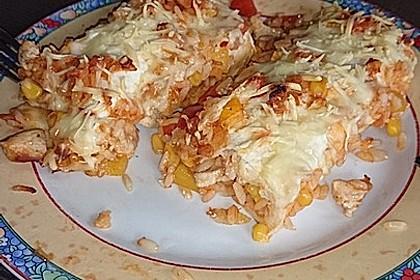 Mexikanischer Burritoauflauf 8
