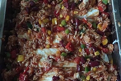 Mexikanischer Burritoauflauf 1