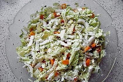 Chinakohl - Salat 3