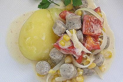 Bratwurstbällchen - Gulasch mit Paprika 2