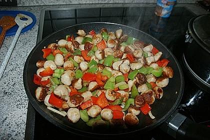 Bratwurstbällchen - Gulasch mit Paprika 1