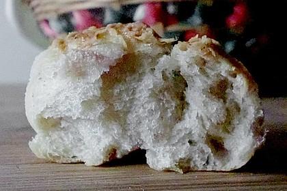 Käse- oder Schinkenschnecken 11