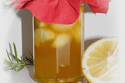 Knoblauch eingelegt in Honig 1