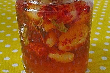 Knoblauch eingelegt in Honig 3