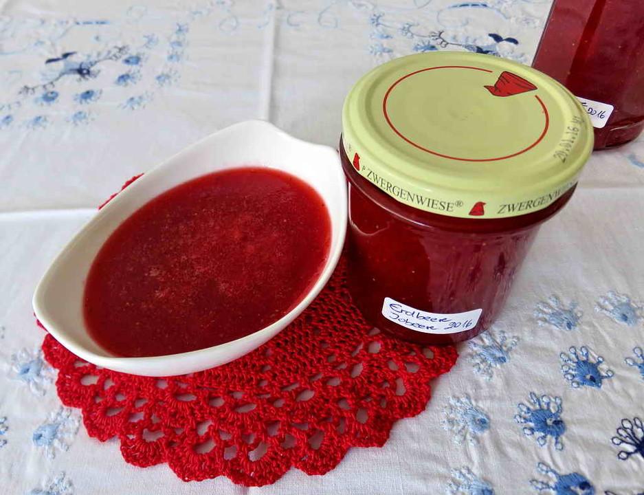 Erdbeer Johannisbeer Marmelade Von Cwillwoldt Chefkoch
