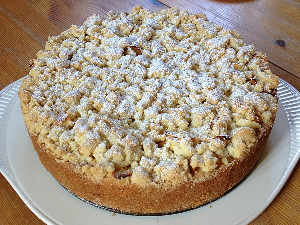 Apfel Streuselkuchen Mit Pudding Von Lari Chefkoch