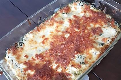 Spinat - Feta - Lasagne 5