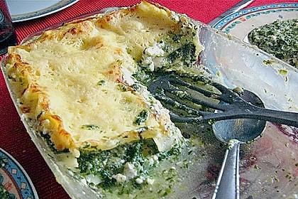 Spinat - Feta - Lasagne 15